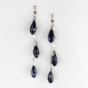 NEW Handcrafted Sterling Silver Drop Beads Earring